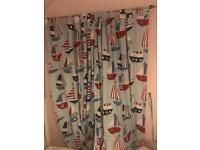 Boys curtain