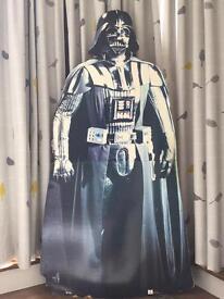 Darth Vader cardboard figure