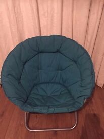 Teal Circle Chair