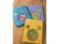 9 x Disney Books (Hardback) Inc Cd's