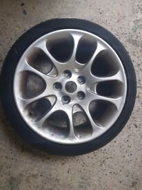 bmw wheel with continental tyre 225/40/18