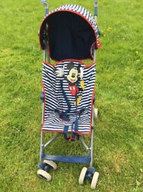 Mikey mouse stroller