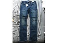 All Saints Mens Amori Cigarette Skinny Fit Jeans - Size 30 Waist