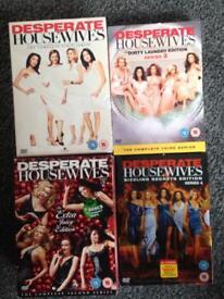 Desperate Housewives Season 1-4 Boxsets