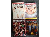 Desperate Housewives Season 1-4 Boxsets