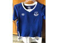 Everton kit Age 4-5