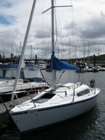 Hunter Horizon 21 ft yacht, immaculate sailing boat!