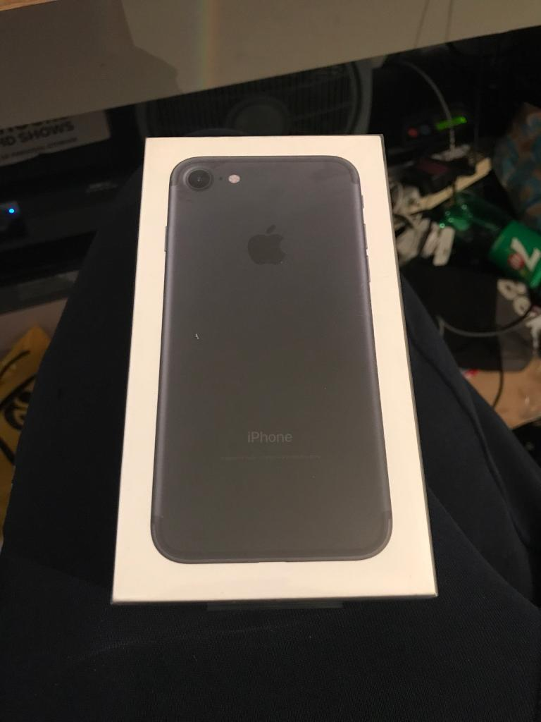 iPhone 128GB Brand New Sealedin Edmonton, LondonGumtree - Unlocked iPhone 7 128GBbrand new 12 months warrantyCash on collection
