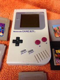 Original gameboy plus 5 games