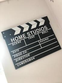 Hollywood take sign
