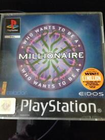 PS1 Who Wants to be a Millionaire