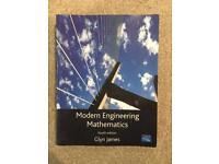 Modern Engineering Mathematics, fourth edition by Glyn James