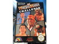 Nintendo NES Game WWF Wrestlemania - boxed