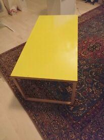KILO Yellow Metal Coffee Table