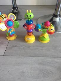 Lamaze high chair toys
