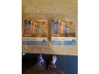 Tescos hp300 black and coloured ink cartridges for printer