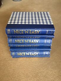 Nice 'n' easy recipes collection set 7 binders