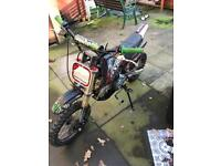 Demon x dxr 140cc pit bike