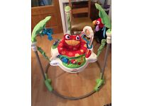 Fisher price jumparoo/bouncer (excellent condition)