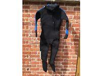 Semi dry oceanic wetsuit - ladies size 10