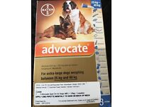 ADVOCATE WORMING AND FLEAING MEDICATION IN ONE