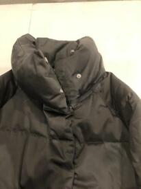 Beautiful charcoal grey Next puffa jacket size 6.