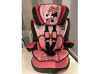 Minnie Mouse Child Car Seat