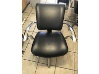 2 salon back wash chairs