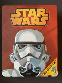 Star Wars Empire Tin (books and model)