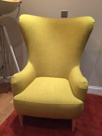 Made Bodil Chair in Light Moss RRP £499