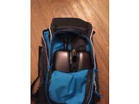 Transceiver, Shovel, Probe and Backpack