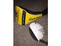 TaylorMade RBZ Stage 2 Golf Driver Stiff Shaft 9.5 Degrees