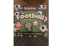 Football Brainbox Game- brand new unopened