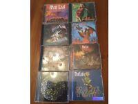 MeatLoaf CD bundle.