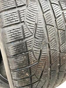 2 pneus 245/50/18 Pirelli hiver 7/32