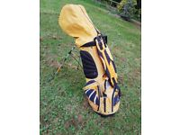 Ping golf Bag and left handed Clubs