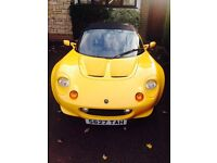 Lotus Elise S1 For sale, a collectable mid engined sports car with Rover K engine