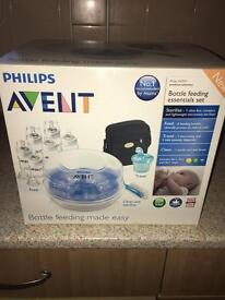 Phillips advent bottle feeding kit