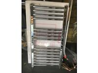 Chrome towel radiator brand new unused