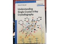 Understanding Single-Crystal X-Ray Crystallography textbook