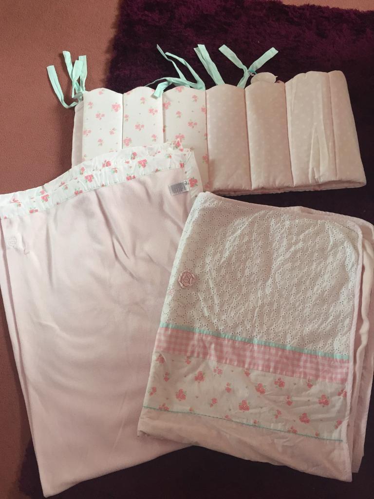 New Mothercare Little Lane Cot Bedding Set