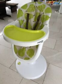 Cosatto 3Sixti Highchair - Green Pears