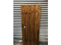6' x 3' Wooden Garden Gate with Furniture Fitted