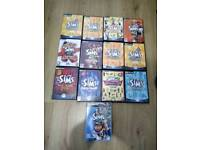 The Sims / Sims 2 PC Games - Job Lot - Pets, Superstar, Unleashed