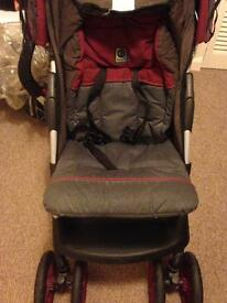 Graco (both stroller and carseat/carrier)