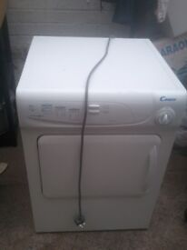 Candy vented 6kg dryer CAN BE SEEN WORKING £69 free local delivery (Nottm.)