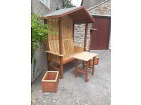 Handmade garden furniture