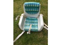 Chicco booster baby chair