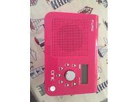 Pure One Pink DAB Radio