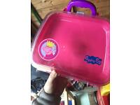Free peppa pig toy case